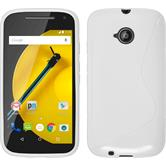 Silicone Case for Motorola Moto E 2015 2. Generation S-Style white