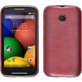 Silicone Case for Motorola Moto E brushed pink