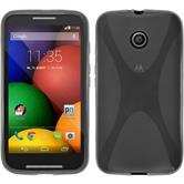 Silicone Case for Motorola Moto E X-Style gray