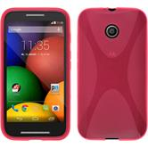 Silicone Case for Motorola Moto E X-Style hot pink