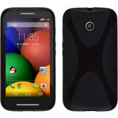 Silicone Case for Motorola Moto E X-Style black