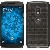 Silikonhülle für Motorola Moto G4 Play Iced grau