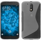 Silikon Hülle Moto G4 Plus S-Style clear