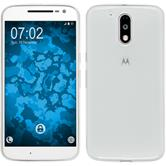 Silikon Hülle Moto G4 Slimcase clear
