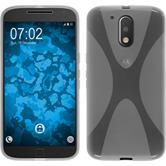 Silikonhülle für Motorola Moto G4 X-Style clear