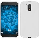 Silikonhülle für Motorola Moto G4 X-Style weiß