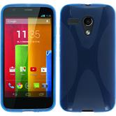 Silicone Case for Motorola Moto G X-Style blue
