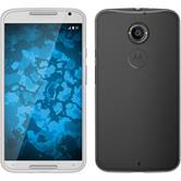Silikonhülle für Motorola Moto X 2014 2. Gen. Slimcase clear