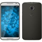 Silikonhülle für Motorola Moto X 2014 2. Gen. Slimcase grau