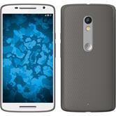 Silikonhülle für Motorola Moto X Play Slimcase grau