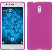 Silikonhülle für Nokia 3 matt pink