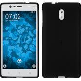 Silikonhülle für Nokia 3 matt schwarz