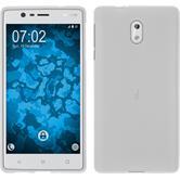 Silikonhülle für Nokia 3 matt weiß