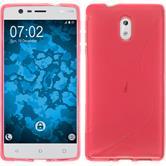 Silikonhülle für Nokia 3 S-Style pink