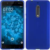 Silikonhülle für Nokia 5 matt blau