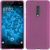 Silikonhülle für Nokia 5 matt pink