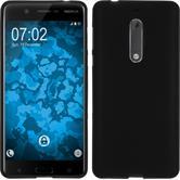 Silikonhülle für Nokia 5 matt schwarz