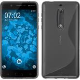 Silikonhülle für Nokia 5 S-Style clear