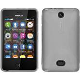 Silicone Case for Nokia Asha 501 X-Style transparent