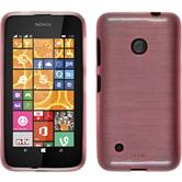 Silikon Hülle Lumia 530 brushed rosa