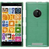 Silikon Hülle Lumia 830 brushed grün