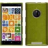 Silikon Hülle Lumia 830 brushed pastellgrün
