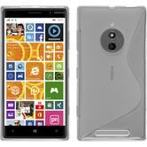 Silikon Hülle Lumia 830 S-Style clear