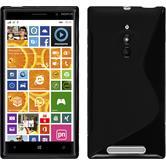 Silikon Hülle Lumia 830 S-Style schwarz