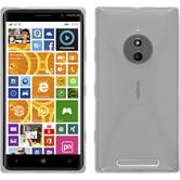 Silikon Hülle Lumia 830 X-Style clear