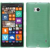 Silikon Hülle Lumia 930 brushed grün