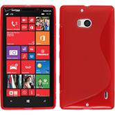 Silicone Case for Nokia Lumia Icon S-Style red