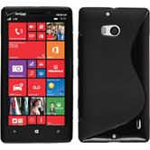 Silicone Case for Nokia Lumia Icon S-Style black
