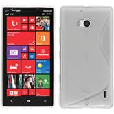 Silicone Case for Nokia Lumia Icon S-Style transparent