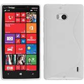 Silicone Case for Nokia Lumia Icon S-Style white