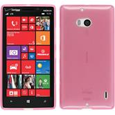Silicone Case for Nokia Lumia Icon transparent pink