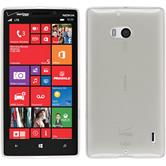 Silicone Case for Nokia Lumia Icon transparent white