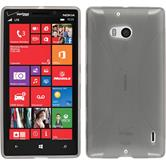 Silicone Case for Nokia Lumia Icon X-Style gray