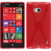 Silicone Case for Nokia Lumia Icon X-Style red