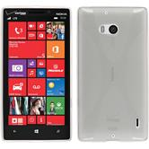 Silicone Case for Nokia Lumia Icon X-Style transparent