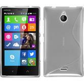 Silikon Hülle Nokia X2 S-Style clear Case