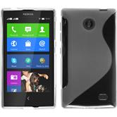 Silicone Case for Nokia X / X+ S-Style transparent