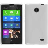 Silicone Case for Nokia X / X+ X-Style white