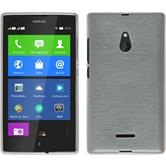 Silicone Case for Nokia XL brushed white