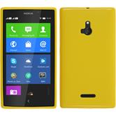 Silicone Case for Nokia XL matt yellow