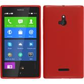 Silicone Case for Nokia XL matt red