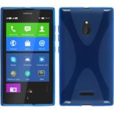 Silicone Case for Nokia XL X-Style blue