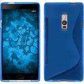 Silikon Hülle OnePlus 2 S-Style blau