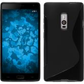Silikon Hülle OnePlus 2 S-Style schwarz