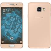Silikon Hülle Galaxy A3 (2016) A310 360° Fullbody gold