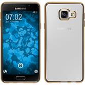 Silikon Hülle Galaxy A3 (2016) A310 Slim Fit gold